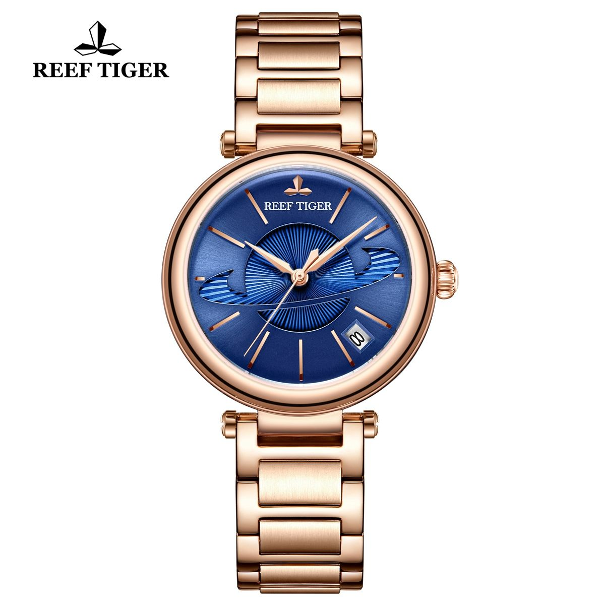 Australian womens rose gold sports watches
