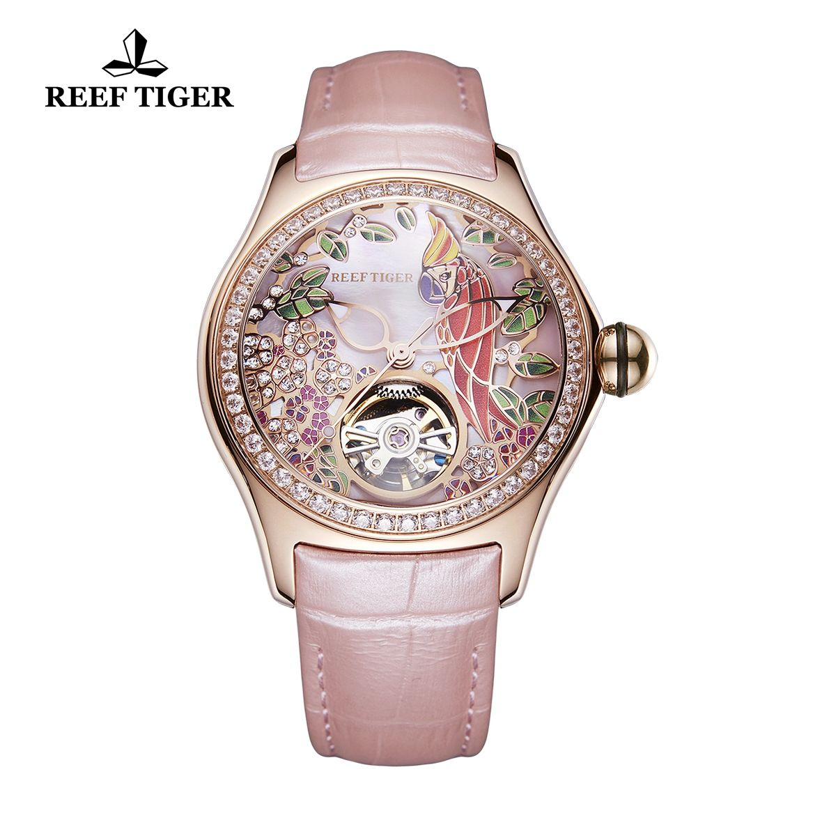 affordable womens rose gold Uk watches