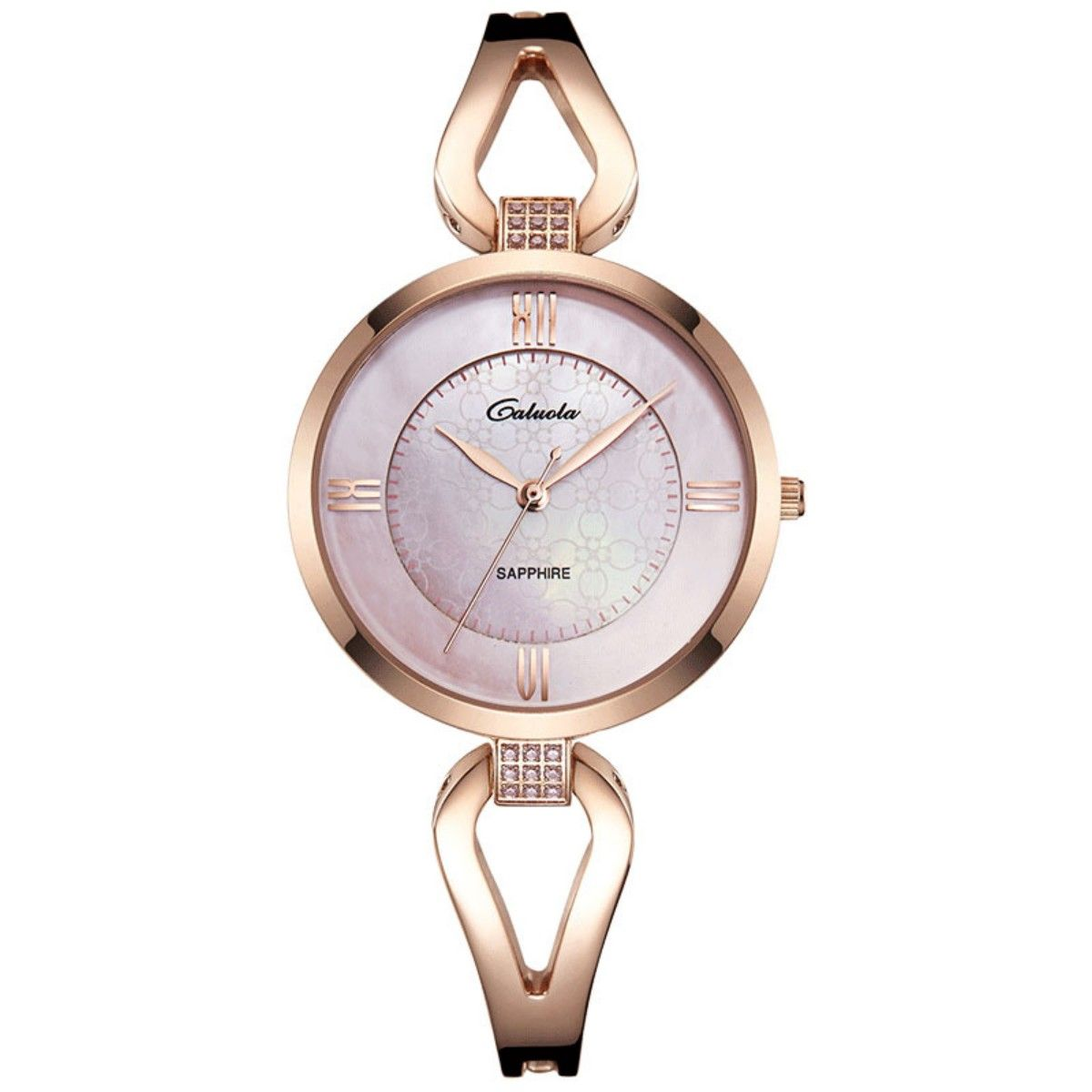 womens rose gold bracelet watches